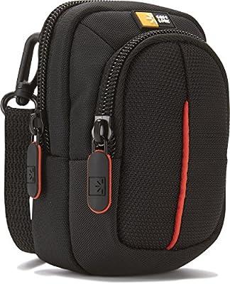 Case Logic DCB302 Kameratasche S inkl. Schultergurt/Gürtelschlaufe (mit Zubehörfach) Grau/grün