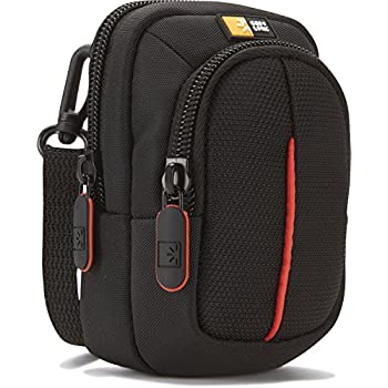 Case Logic DCB302 Compact Digital Camera Bag with Separate Zipped Accessory Pocket and Internal Slip Pocket for SD Cards