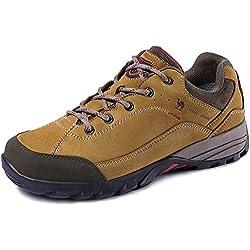 CAMEL CROWN Zapatillas de Camping y Acampada para Mujer & Hombres Zapatos de Senderismo Montaña Calzado de Trekking Impermeable y Ligero