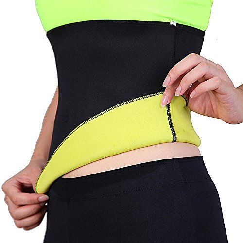 d2c3865f7d3 HAMACTIV Neoprene Slimming Belt Hot Shapers Waist Trainer Corset Trimmer  Cincher for Weight Loss Women