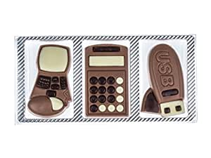 Schokoladen Geschenkpackung Technik 3-fach sortiert 30g