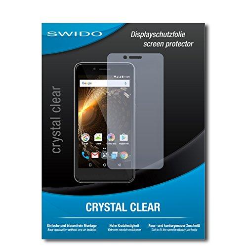 SWIDO Schutzfolie für Allview P6 Energy Mini [2 Stück] Kristall-Klar, Hoher Härtegrad, Schutz vor Öl, Staub & Kratzer/Glasfolie, Bildschirmschutz, Bildschirmschutzfolie, Panzerglas-Folie