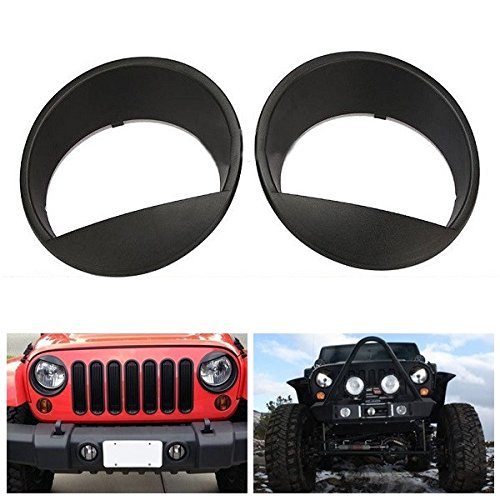 for-07-15-jeep-wrangler-jk-angry-bird-style-matte-black-headlight-cover-bezel-eyelids