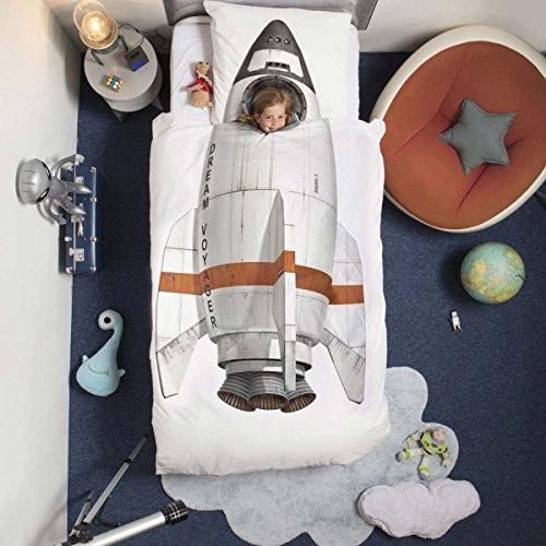 Snurk Rocket Duvet Set Uk Single Size