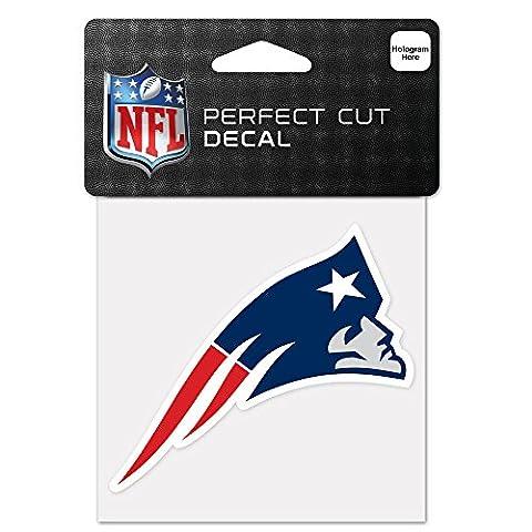NFL New England Patriots 63055011 Perfect Cut Color Decal, 4
