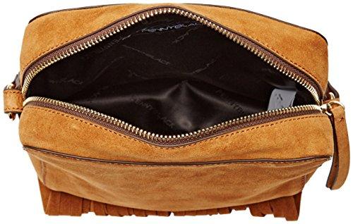 Pennyblack Serale, Borsa a Tracolla Donna, 20x17x7 cm (W x H x L) Marrone (Cuoio)