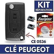 Carcasa Jongo llave caja de mando a distancia Peugeot Partner 107 207 308 307, 407