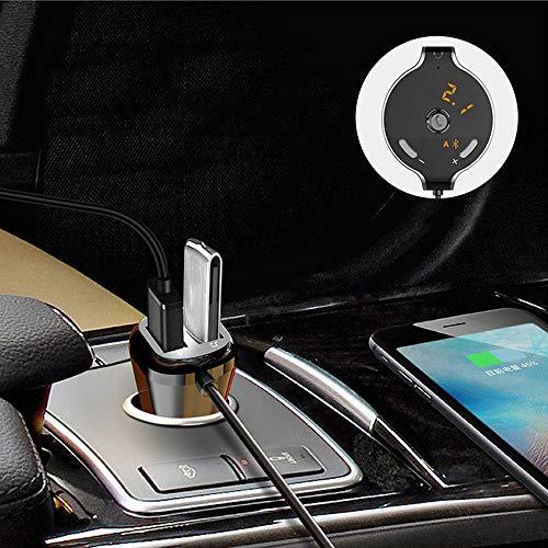 Dingchangmaoyia Auto-Ladegerät, Mit Linie AUX-Player Dual USB Bluetooth Mp3 Für iPhone X / 8/8 Plus/Ipad/Samsung, HTC, LG, Etc. -
