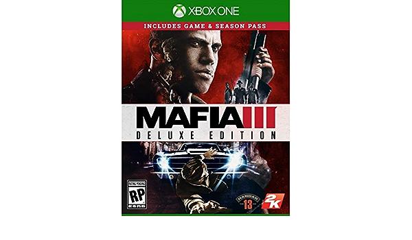 Mafia 3 Deluxe Edition Xbox One Game Box Uk Multi Ml Games