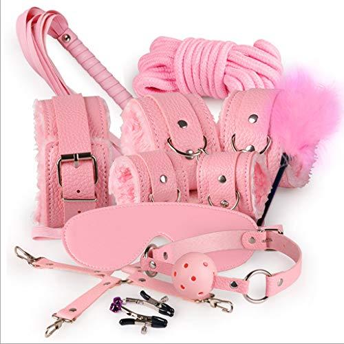 Spielzeug- SMS Zusammengebundene Torturer-Paar-Serie Wünscht Vielversprechenden Höhepunkt-Orgasmus-Spaß Liefert Leidenschaftliche Geräte Sex (Farbe : Pink)