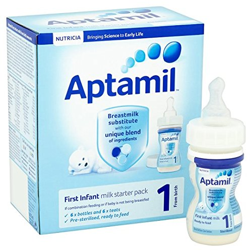 discount watch wholesale outlet Details about Aptamil 1 First Milk Starter Pack 6X70ml Ready To Feed Liquid