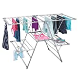 Best Drying Rack For Laundries - mDesign Expandable Aluminum Clothes Drying Rack for Laundry Review