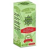 Thé vert 80 gélules extrait | Green tea extract | Cvetita Herbal UK - propulseur de métabolisme et support de brûleur de graisse pour des hommes et des femmes - Approprié aux végétariens et aux végétaliens