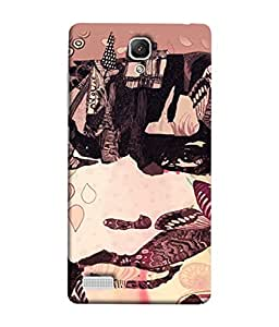 Fuson Designer Back Case Cover for Xiaomi Redmi Note :: Xiaomi Redmi Note 4G :: Xiaomi Redmi Note Prime (Girl Friend Boy Friend Men Women Student Father Kids Son Wife Daughter )