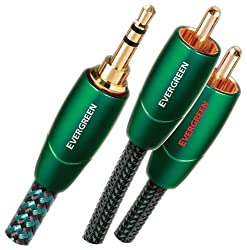 Audioquest Evergreen Audio Interconnect 3.5mm - 2 Rca 3m