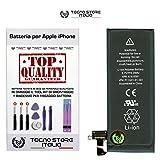 TSI® Batteria di Ricambio per Apple iPhone 4S Originale, Capacità 1430mAh apn 616-0581/616-0582, + Tool Kit Smontaggio, Biadesivo e Istruzioni immagine