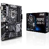 Asus PRIME Z370-P II Scheda Madre per Processori Intel LGA-1151 9th/8th gen, Illuminazione LED, RAM DDR4 4000 MHz, Dual M.2, Intel Optane Memory Ready, HDMI, SATA 6 GB/s, USB 3.1 Gen 1, ATX, Nero