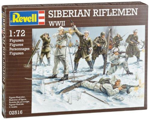 Revell - 2516 - Maquette Classique à Peindre et à Coller - Infanterie Russe Hiver