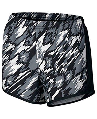 Nike G Nk Dry Tempo Aop2 - Pantaloncini da bambine, colore Nero, taglia S