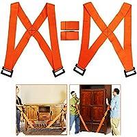 MF@SQY Sistema de movimiento de correas de elevación y movimiento para 2 personas para transportar fácilmente muebles, electrodomésticos, colchones o cualquier objeto pesado.