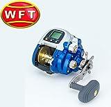 WFT Electra 550 PR-SHP Elektrorolle, Multirolle, E-Multi, Angelrolle für Norwegen, Island & Dänemark, elektrische Rolle