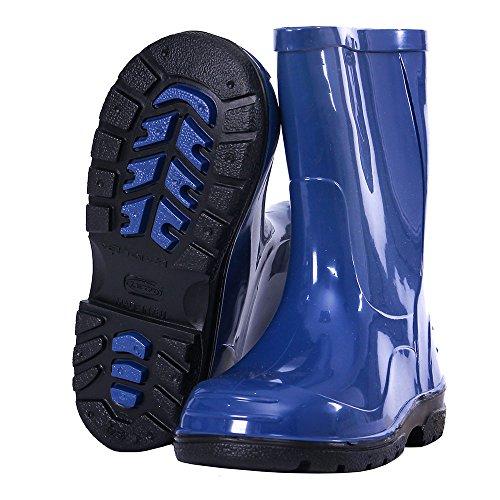 LEMIGO , bottes en caoutchouc mixte enfant bleu