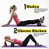 TeamSoda Fitness Massage-Set: 2 in 1 Faszienroller + Lacrosse Massageball + Speed rope - 6