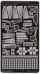 Lion Roar de Great Wall Hobby le700158-WWII US Navy Aircraft Carrier Cranes and Landing Set