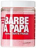 SMA Diffusion Sucre pour Barre à Papa en Pot Tarte Fraise 250 g - Lot de 2