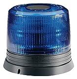 HELLA 2RL 007 017-041 Blitz-Kennleuchte KLX, Xenon X1 Gasentladungslampe, Anbau, 12 V, blau