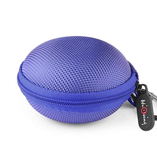 Mini Kopfhörer Tasche mit Schnalle, HiGoing Headset ohrhörer Schutztasche für In Ear Ohrhörer, MP3 Player, iPod Nano, Schlüssel, Lovely Macarons Aussehen (Innenmaß 6.8cm x 6.8cm x 4.0cm) -