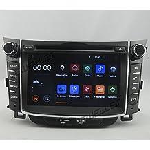 Ocho Core 1024* 600HD pantalla Android 6.0coche DVD GPS navegación para hyundai i30, Elantra GT 2013–2016con 3G/WIFI DVR DAB