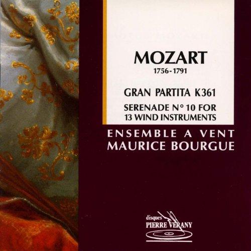Sérénade No. 10 en si bémol majeur Gran Partita pour 13 instruments à vent: Tema con variazioni, K 361