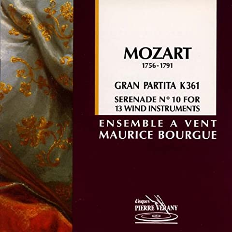 Sérénade No. 10 en si bémol majeur Gran Partita pour 13 instruments à vent: Romance, K 361
