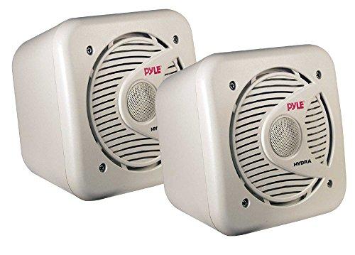 Pyle Wasserdichte Lautsprecher 5.25-Zoll-150-Watt-bidirektionale-geschirmt, Marine, PLMR53 - Pyle Hydra-serie Marine