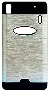 Fortuna Back Cover for Apple Iphone 6 (Silver)