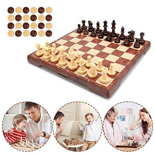 Muscccm-Schachspiel-Einklappbar-Speil-mit-Magnetischem-fr-Kinder-Geburtstag