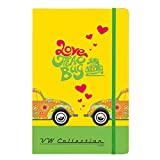Officially Licensed Volkswagen A5 Notebook – Beetle Flowers