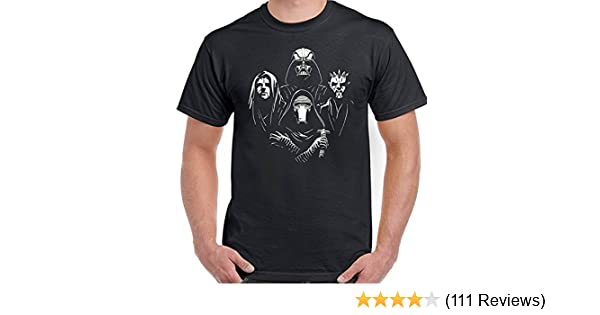 30813eaf6 Star Wars Rhapsody - Mens Funny T-Shirt Top Tee Bohemian Queen Parody:  Amazon.co.uk: Clothing
