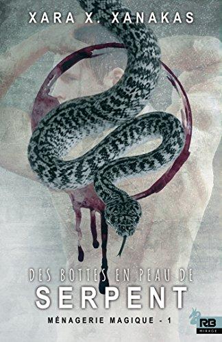 Des bottes en peau de serpent
