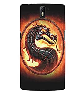 PRINTSWAG DRAGON Designer Back Cover Case for ONE PLUS ONE