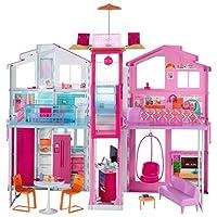 Barbie - (Mattel Dly32) Muhteşem Malibu Evi