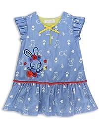 The Essential One - Baby Kinder Mädchen Kleid - Blau - EOT278