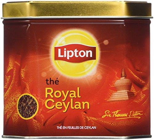 Lipton Thé Vrac Royal Ceylan 200 g - Lot de 2