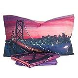 Completo lenzuola San Francisco di Bassetti - dimensioni varie R703 Singolo