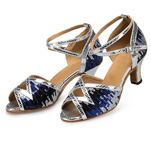 Miyoopark - Ballroom donna Silver-6cm heel