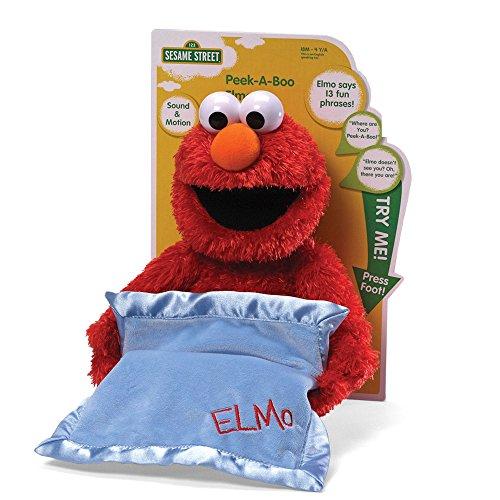 Gund Sesamstraße Elmo Guck-guck-Spiel animiertes Spielzeug