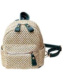 a64c2dab614 Amazon.es  paja playa - Bolsos mochila   Bolsos para mujer  Zapatos ...