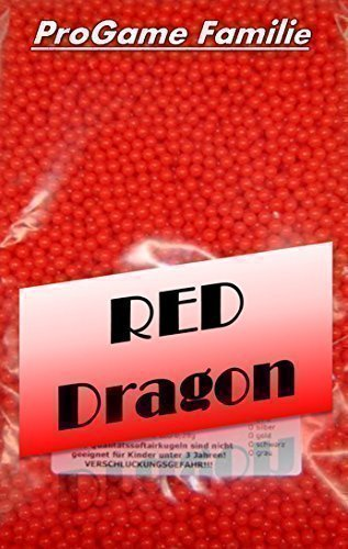 1kg Softairkugeln 0,12g Pro Game Rot Softair Kugeln ca. 8333 Stück