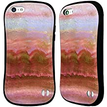 Official Monika Strigel Coral Agate Gemstone Hybrid Case for Apple iPhone 5c